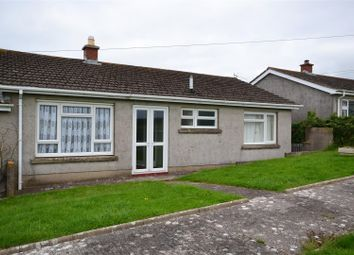 Thumbnail 2 bed semi-detached bungalow for sale in Lambton Court, Castlemartin, Pembroke