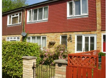 Thumbnail 3 bed terraced house for sale in Harlech Close, Basingstoke