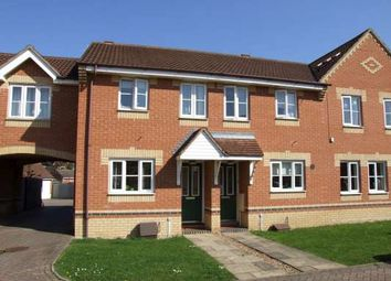 Thumbnail 2 bedroom terraced house to rent in Turnstone Way, Stanground, Peterborough
