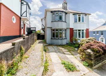 Thumbnail 2 bedroom semi-detached house for sale in Burleigh Lane, Hartley, Plymouth