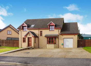 Thumbnail 4 bed detached house for sale in Ben Aigan Way, Rothes