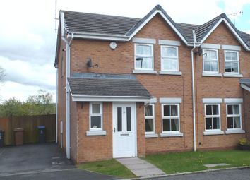 Thumbnail 3 bed semi-detached house to rent in Fairfax Close, Biddulph, Stoke-On-Trent