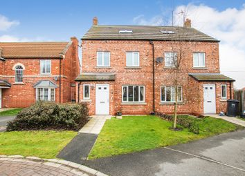 Thumbnail 4 bed semi-detached house for sale in Moorland Way, Sherburn In Elmet