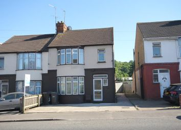 Thumbnail 3 bedroom semi-detached house to rent in 343 Dallow Road, Luton, Bedfordshire LU11Tg