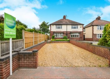 Thumbnail 3 bed semi-detached house for sale in Main Street, Papplewick, Nottingham