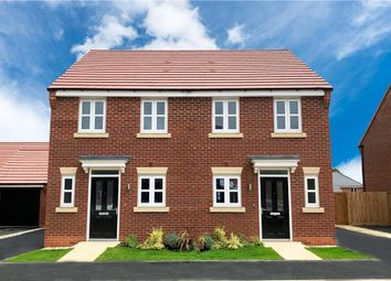 "Thumbnail 2 bedroom semi-detached house for sale in ""Beckford"" at Platt Lane, Keyworth, Nottingham"