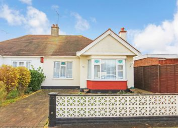 Thumbnail 2 bed semi-detached bungalow for sale in Walsingham Road, Southend-On-Sea, Essex