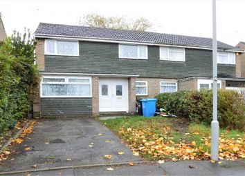 Thumbnail 3 bed semi-detached house for sale in Carisbrooke Crescent, Hamworthy, Poole, Dorset