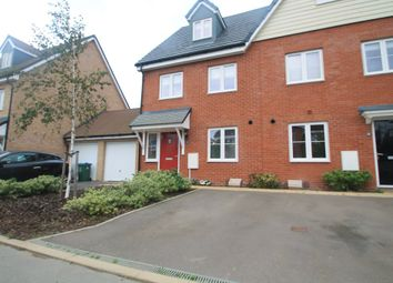 Thumbnail 3 bed end terrace house for sale in Moorcroft Lane, Aylesbury