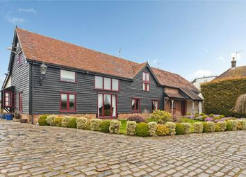 Thumbnail 6 bed barn conversion for sale in Rectory Lane, Shenley, Radlett, Hertfordshire