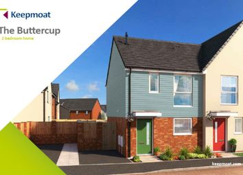 Thumbnail 2 bed semi-detached house for sale in Little Eaves Lane, Stoke-On-Trent