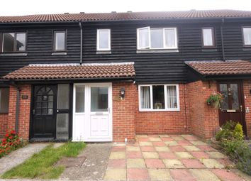 Thumbnail 2 bed terraced house for sale in Fairbank Close, Ongar, Essex