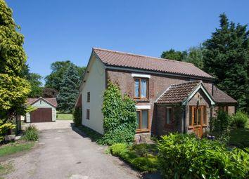 Thumbnail 5 bed farmhouse for sale in Watton Road, Little Ellingham, Attleborough