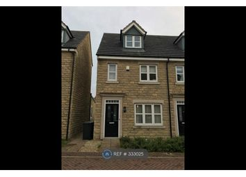 Thumbnail 3 bedroom semi-detached house to rent in Plover Mills, Huddersfield
