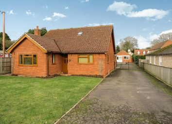 Thumbnail 5 bed detached bungalow to rent in School Lane, Northwold, Thetford