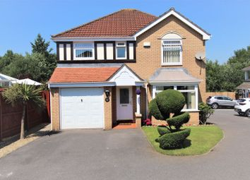 Thumbnail 4 bedroom detached house for sale in Marguerites Way, Cardiff