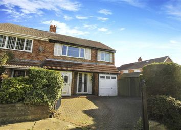 Thumbnail 4 bed semi-detached house for sale in Wentworth Gardens, Whitley Bay, Tyne And Wear