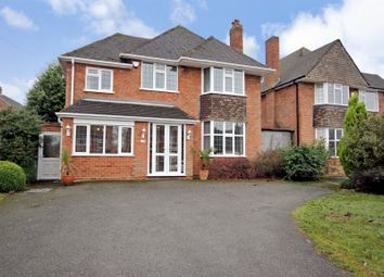 Thumbnail 4 bed detached house for sale in Buryfield Road, Solihull