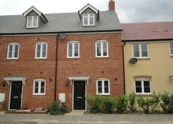 Thumbnail 3 bed town house to rent in Finn Farm Road, Kingsnorth, Ashford
