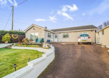 Thumbnail 4 bed detached bungalow for sale in Greenmeadow Bungalow, Glan Y Nant, Blackwood