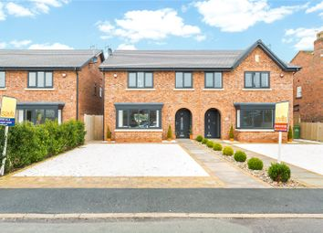 Thumbnail 4 bedroom semi-detached house for sale in Cumber Lane, Wilmslow, Cheshire
