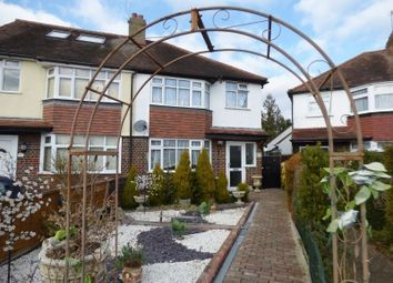 Thumbnail 3 bed semi-detached house for sale in Albany Park Road, Leatherhead