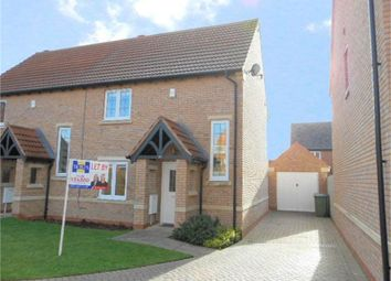 Thumbnail 2 bed semi-detached house to rent in Blyth Close, Cawston, Rugby, Warwickshire