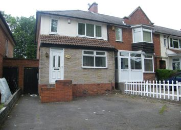 Thumbnail 3 bed semi-detached house to rent in Fernhurst Road, Saltley, Birmingham