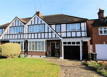 Thumbnail 5 bed semi-detached house for sale in Hilltop, Loughton