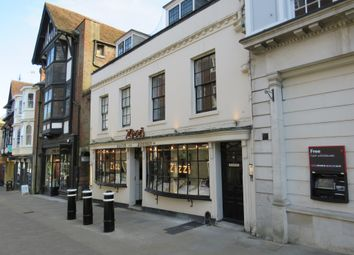 Thumbnail Studio for sale in St. Johns South, High Street, Winchester