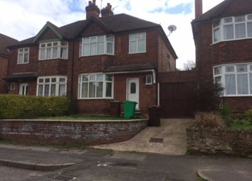 Thumbnail 3 bed semi-detached house to rent in Valmont Road, Sherwood, Nottingham