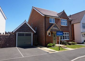 Thumbnail 4 bed detached house for sale in Schofield Close, Bathpool, Taunton