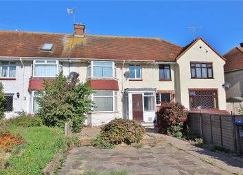 Thumbnail 3 bed terraced house for sale in Congreve Road, Broadwater, Worthing, West Sussex