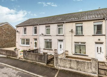 Thumbnail 3 bed terraced house for sale in Oakfield Terrace, Nantymoel, Bridgend