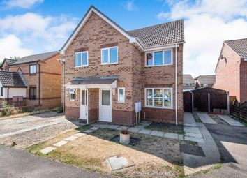 Thumbnail 3 bedroom semi-detached house for sale in Horsford, Norwich, Norfolk