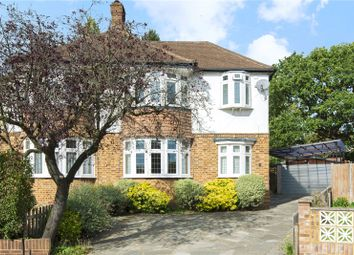Thumbnail 3 bed semi-detached house for sale in Cromford Way, New Malden