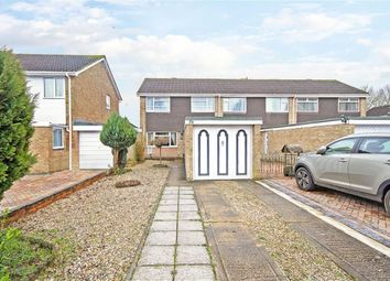 Thumbnail 3 bed end terrace house for sale in Conway Road, Eldene, Wiltshire