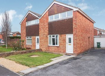 Thumbnail 3 bed semi-detached house for sale in Wren Close, Weston-Super-Mare
