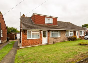 Thumbnail 2 bed semi-detached bungalow for sale in Lesley Close, Istead Rise, Gravesend