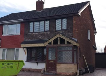 Thumbnail 3 bed property to rent in Andrew Road, West Bromwich