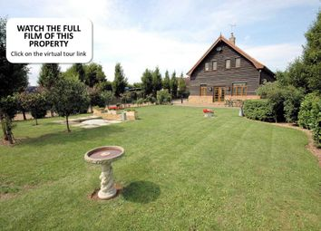 Thumbnail 5 bed barn conversion for sale in Lynn Road, Walpole Highway, Wisbech