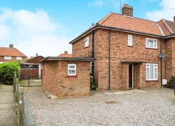 Thumbnail 3 bed end terrace house for sale in Park Avenue, North Walsham