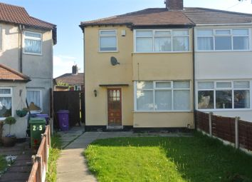Thumbnail 3 bed semi-detached house for sale in Moss Side, Dovecot, Liverpool