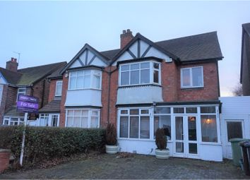 Thumbnail 3 bed semi-detached house for sale in Lyndon Road, Solihull