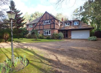 Thumbnail 6 bed detached house for sale in Fitzroy Road, Fleet, Hampshire