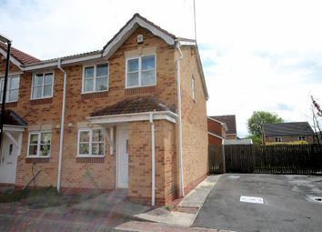 Thumbnail 2 bedroom semi-detached house for sale in Lockyer Close, York
