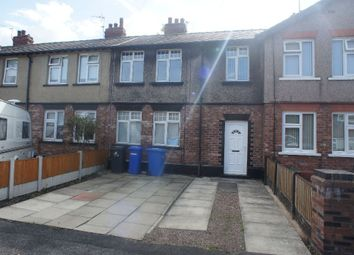 Thumbnail 3 bed terraced house to rent in Broadbent Avenue, Latchford, Warrington