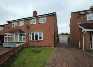 Thumbnail 2 bed semi-detached house to rent in Heddington Close, West Knighton, Leicester