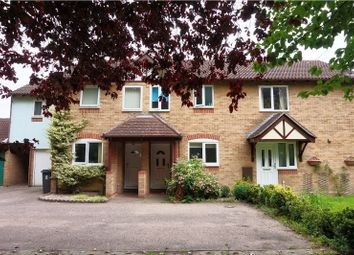 Thumbnail 2 bed terraced house for sale in Fletcher Close, Ipswich