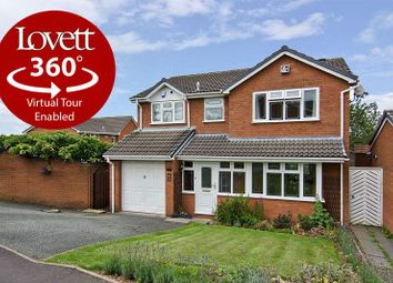 Thumbnail 4 bed detached house for sale in Westwoods Hollow, Hunslet Estate, Burntwood
